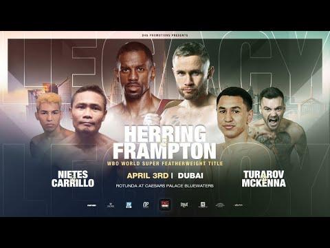Джеймел Херринг – Карл Фрэмптон / Herring vs. Frampton: Main Event