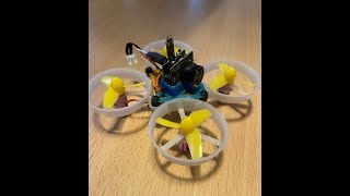 Tiny whoop first Flights FPV