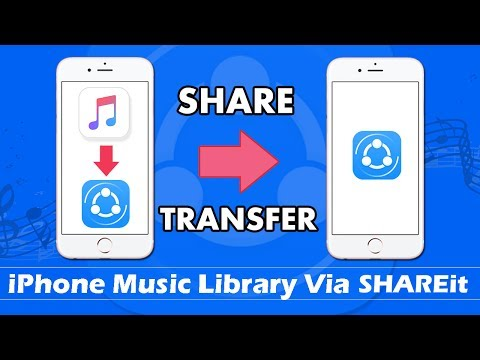 How To Share/Transfer Music From iPhone Music Library via SHAREit (Without Computer)