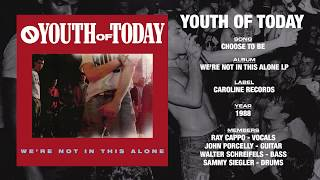 YOUTH OF TODAY - We're Not In This Alone LP - Caroline Records [First Mix] (1988)