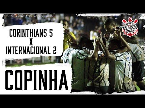 Copinha | Corinthians 5x2 Internacional