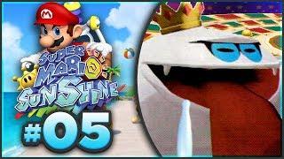 Super Mario Sunshine 100% Walkthrough | ALL Sirena Beach Shine Sprites! [Episode 5 🔴LIVE] | Kholo.pk