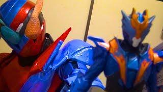 【ソフビ】ビルドくんがクローズを楽しそうに紹介するだけ【仮面ライダー】