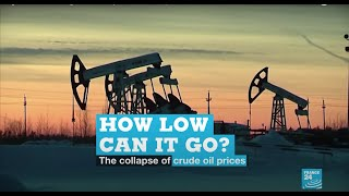 How low can it go? The collapse of crude oil prices