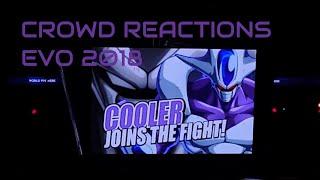 Crowd Reaction EVO 2018 Cooler Reveal Goku and Vegeta Saga Dragonball FighterZ