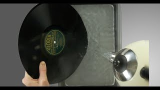 Genius Ideas: Douse The Vinyl Record With Hot Water