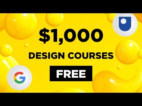 $1,000 UX/UI Design Courses Free During Quarantine! | Design ...