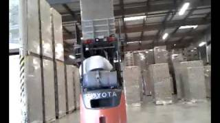 Forklift Clamp skills