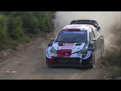 WRC 2021 第5戦ラリー・イタリア 日曜日ハイライト動画1/2