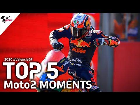 MotoGP バレンシアGP Moto2決勝レースの様子をまとめたハイライト動画
