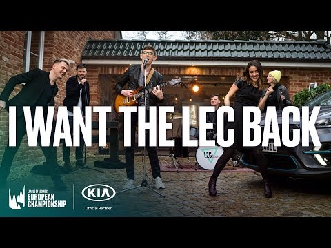 KIA Motors x LECtronic: I want the LEC back!