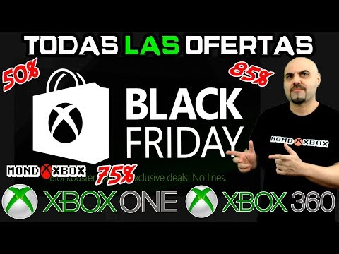 Black Friday todas las ofertas para Xbox One y Xbox 360 |MondoXbox