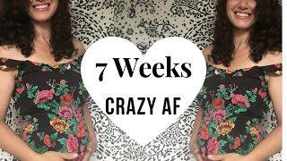 7 Weeks Pregnant | VLOG | Symptoms