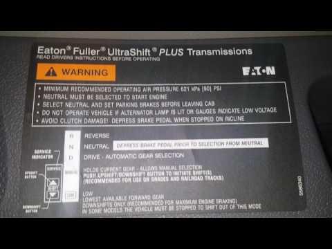 Volvo Eaton 10 Ultrashift VALR Range Low Actuator XY shifter