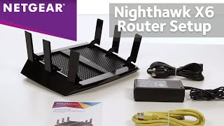 How to Setup NETGEAR Nighthawk X6 WiFi Router | R8000 AC3200 Tri-Band Wireless