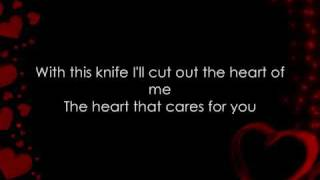 Smile Empty Soul - With This Knife (Lyrics)