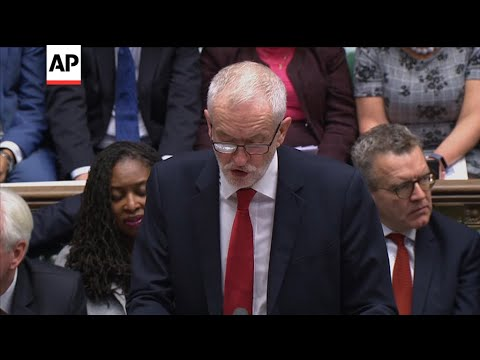 "Corbyn: ""It's not a good deal for this country"""