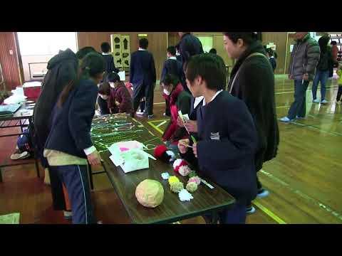 種子島の学校活動:岩岡小学校岩岡まつり手作りゲームで楽しく遊ぼう!2018年