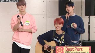 NCT127 (DOYOUNG JAEHYUN TAEIL) Covering 'Best Part' By Daniel Caesar Ft. H.E.R
