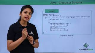 Java - Character Streams
