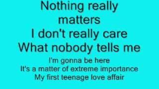 Teenage Love Affair - Alicia Keys with Lyrics