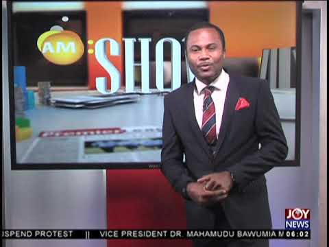 AM Show Intro on JoyNews (25-9-18)