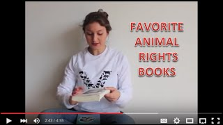 Favorite Books (Animal Rights Related)