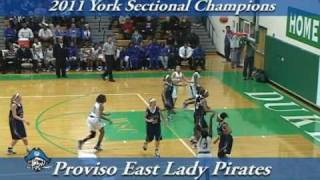 2011 Class 4A York Girl's Sectional Championship - Trinity vs Proviso East Highlights