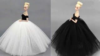 Wie man Barbie Kleidung anfertigt – Puppenkleidung ohne Nähen und Kleben