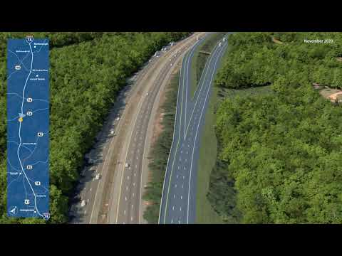 Интересный проект автомагистрали только для грузовых автомобилей