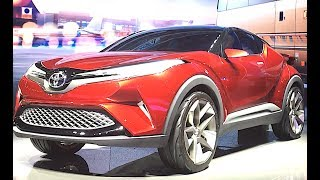 Toyota CHR showed competitor Nissan Juke SUV, Newest Toyota's crossover 2018