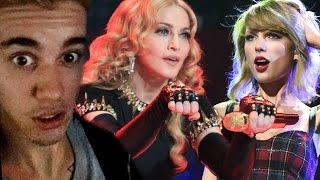 Madonna Casi Mata a Taylor Swift y Justin Bieber Pide DISCULPAS