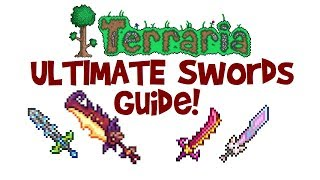 ULTIMATE Terraria Sword Guide! Meowmere vs Star Wrath, Influx Waver & Flying Dragon! (Late/End Game)