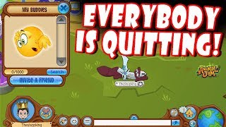 Why Is Everybody Quitting Animal Jam? + No More Buddies!