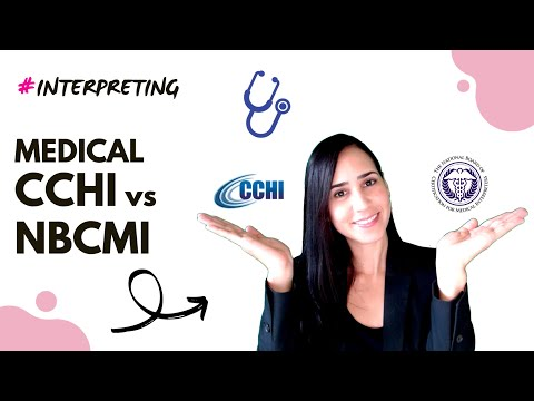 How to become a certified medical interpreter: CCHI vs NBCMI ...