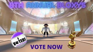 The 8th Annual Bloxys!! (How to vote, what I vote for, and more)