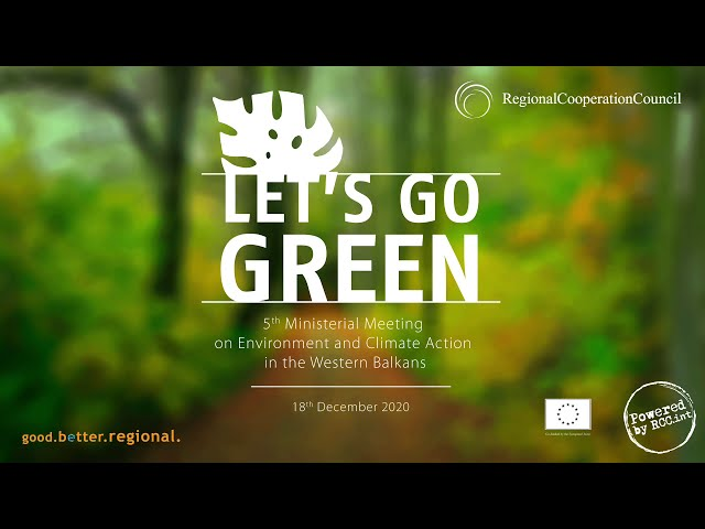 Green Agenda for the Western Balkans