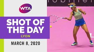 Sofia Kenin | 2020 Lyon Final | Shot of the Day