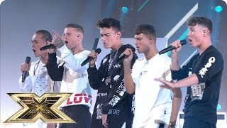 Gambar cover United Vibe sing Slow Hands | Live Shows Week 1 | The X Factor UK 2018