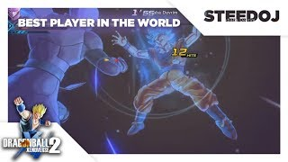 'The Best Player In The World' Uses SSGSS Goku And Gets Silenced By Hit | Xenoverse 2