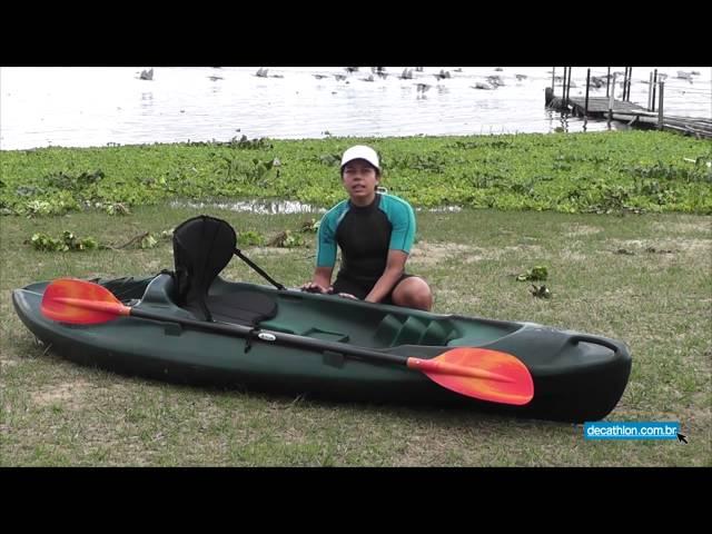 Caiaque Tropical Fishing Brudden Verde/Preto - Decathlon Brasil