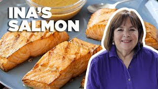 Ina Gartens 5-Star Grilled Salmon | Food Network