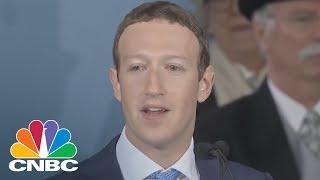 FACEBOOK INC. - Mark Zuckerberg Delivers Emotional Commencement Speech At Harvard | CNBC
