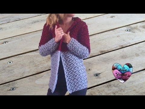 Cardigan Veste Manteau Femme Crochet 13 Woman Cardigan