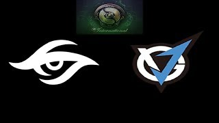 Secret vs VGJ Storm The International 2018 Highlights Dota 2