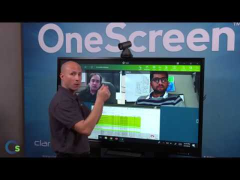 Browser-based video conferencing software - OneScreen Hype