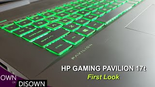 HP Gaming Pavilion 17t - 1st Look - Thermals & Gaming Performance
