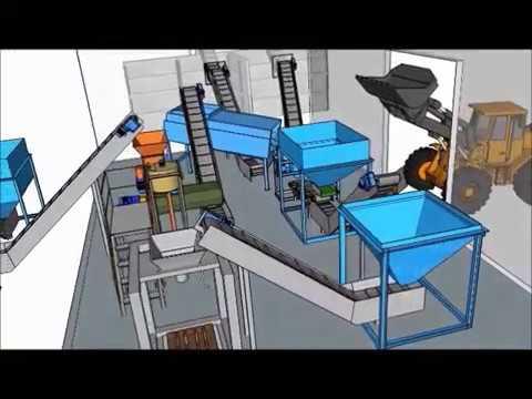 Завод по производству органических удобрений