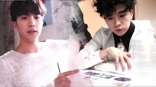 WOOYOUNG (From 2PM) 'R.O.S.E' Making Movie