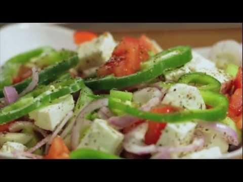 "The ""Original"" GREEK Village SALAD: GreekRecipes.tv"